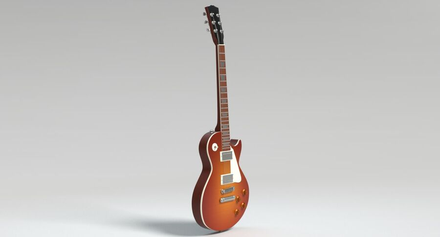 Guitare électrique royalty-free 3d model - Preview no. 8