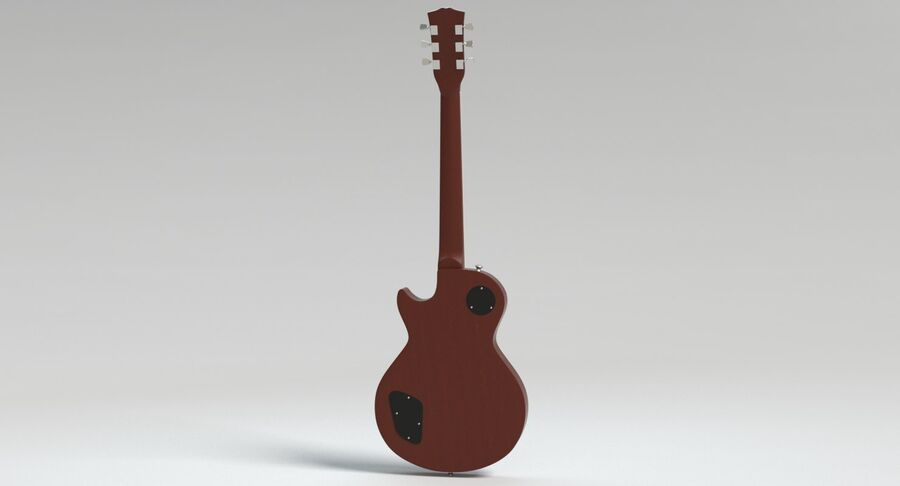 Elgitarr royalty-free 3d model - Preview no. 10