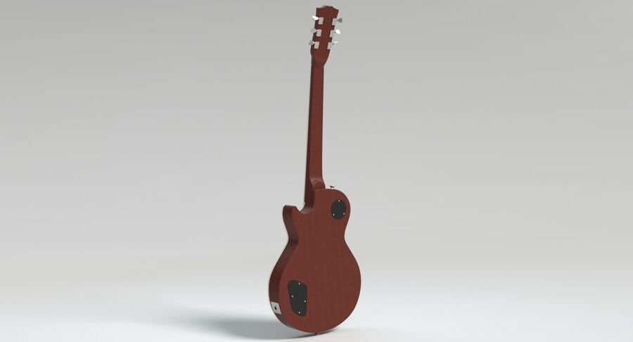 Guitare électrique royalty-free 3d model - Preview no. 11