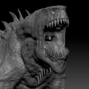 Fantasy Creature Sculpt 3d model