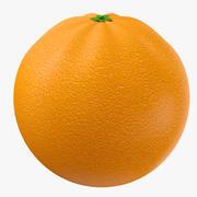Pełny Pomarańczowy Owoc 3d model