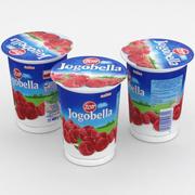 Zott Jogobella Yogurt Lampone 400g 3d model