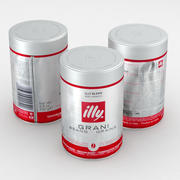 Coffee Beans Can Illy Grani 250g 3d model