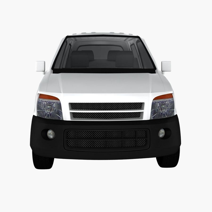 Hatchback Car royalty-free 3d model - Preview no. 7