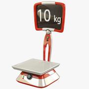 Cartoon Scale 3d model