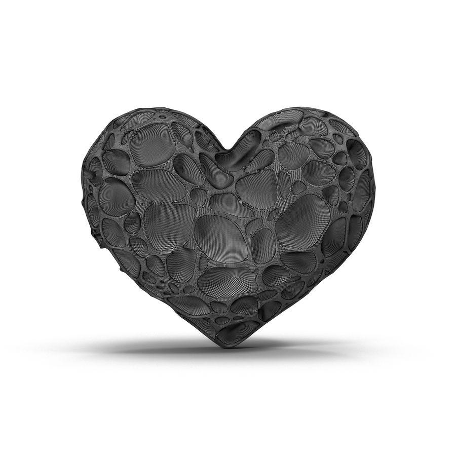 Animowane serce abstrakcyjne royalty-free 3d model - Preview no. 12