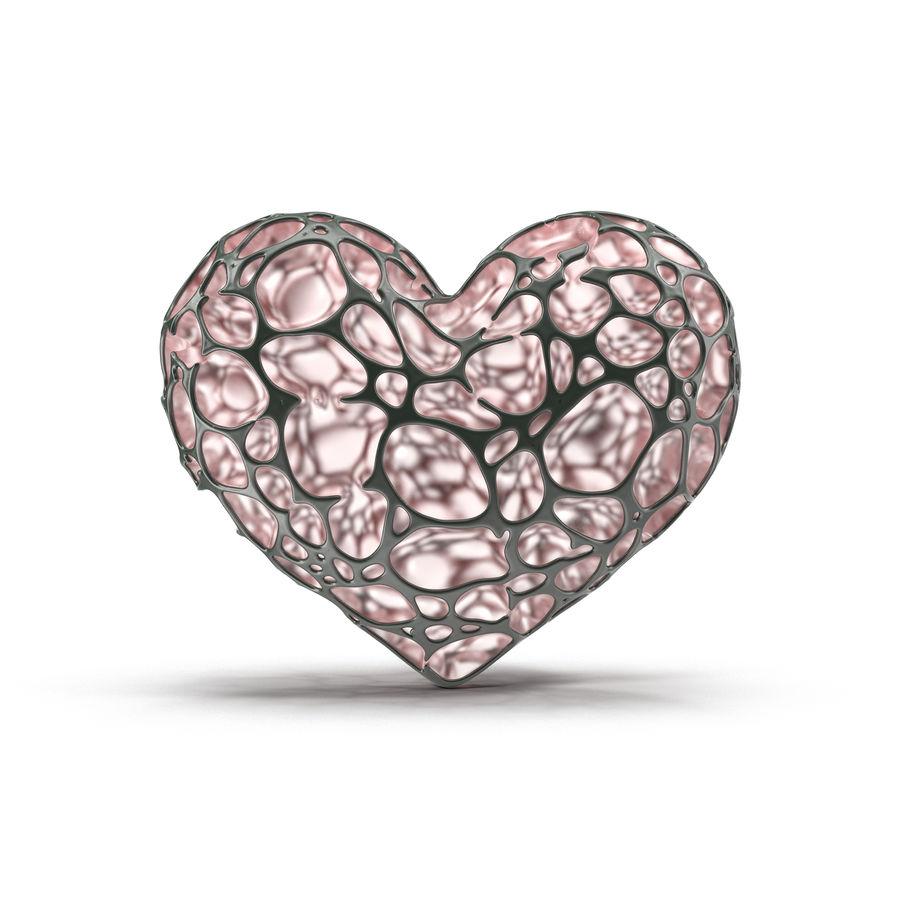Animowane serce abstrakcyjne royalty-free 3d model - Preview no. 5
