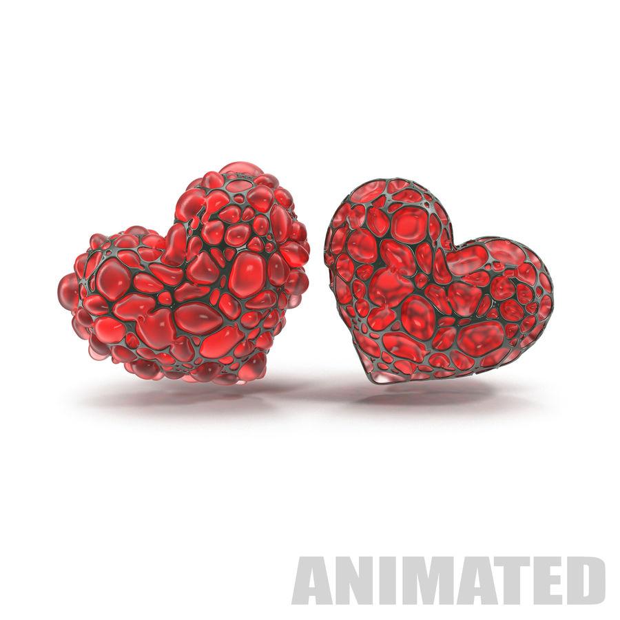 Animowane serce abstrakcyjne royalty-free 3d model - Preview no. 1