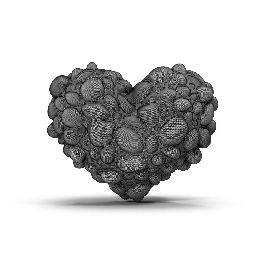 Animowane serce abstrakcyjne royalty-free 3d model - Preview no. 11