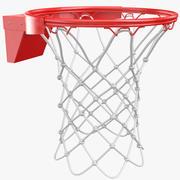 But de basket de basket 3d model