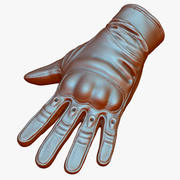 Military Tactical Gloves 3d model