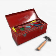 Toolbox Game Ready PBR 3d model
