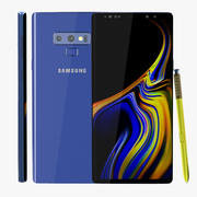 Samsung Galaxy Note 9 Ocean Blue 3d model
