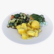 Lunch 06 3d model