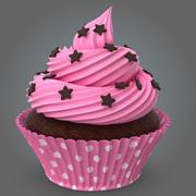 컵 케이크 3d model