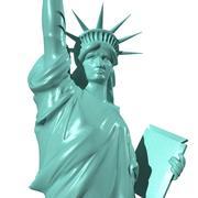 Statua Wolności 3d model