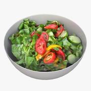 Salad 02 3d model