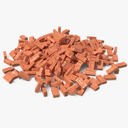 Bunch of Bricks 3Dモデル 3d model