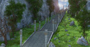 Fantasie-Treppe 3d model