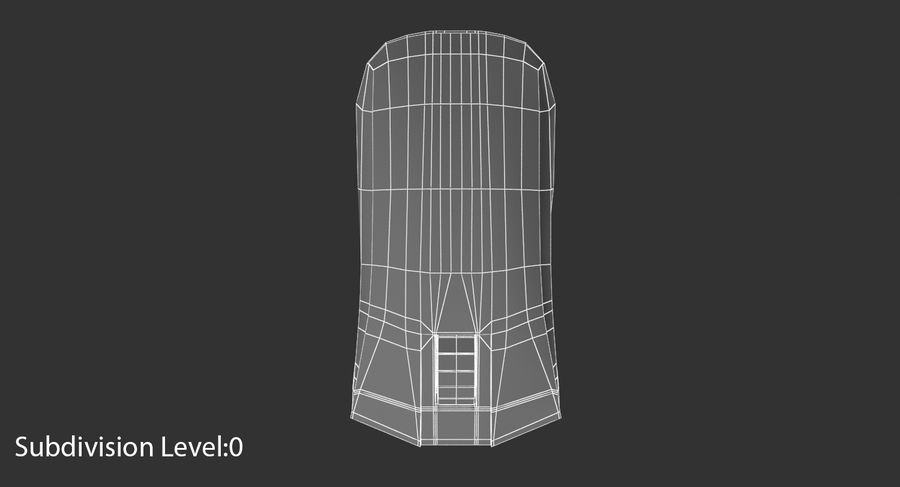 Data mus royalty-free 3d model - Preview no. 10