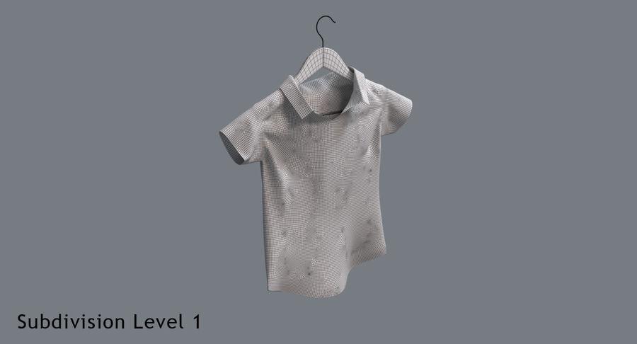 Koszulka męska + wieszak 002 royalty-free 3d model - Preview no. 14