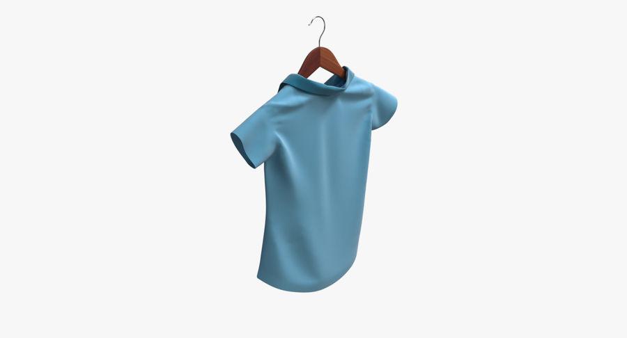 Koszulka męska + wieszak 002 royalty-free 3d model - Preview no. 4