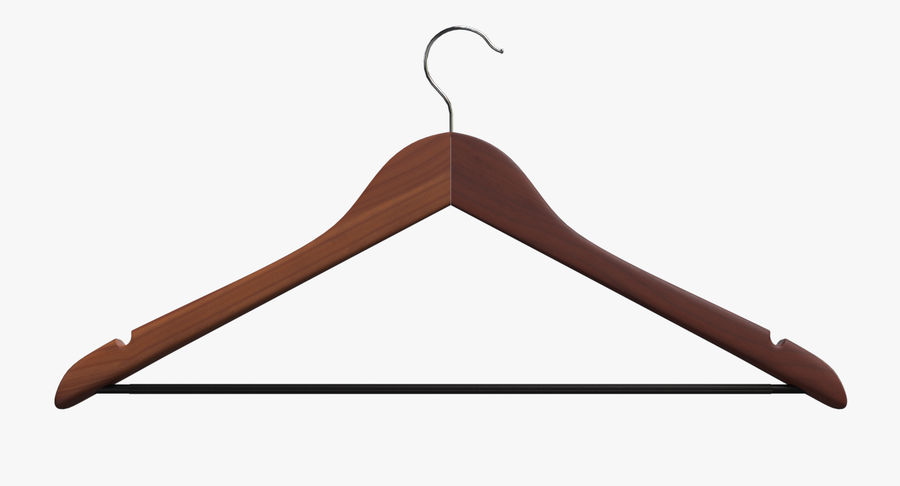 Koszulka męska + wieszak 002 royalty-free 3d model - Preview no. 11