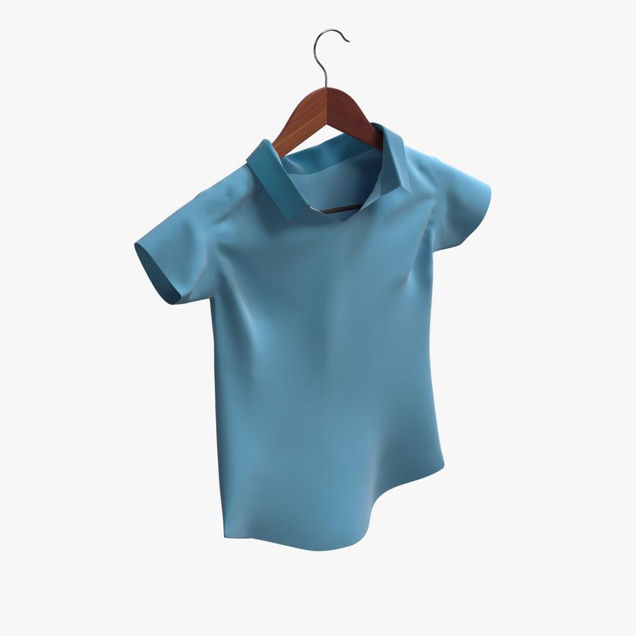 Koszulka męska + wieszak 002 royalty-free 3d model - Preview no. 1