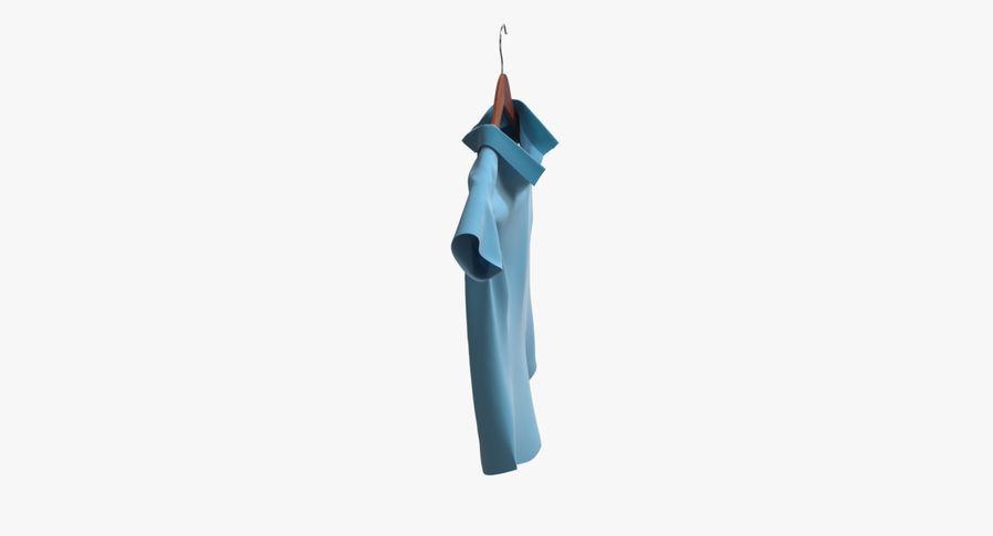 Koszulka męska + wieszak 002 royalty-free 3d model - Preview no. 6