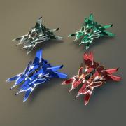 Combattant 3d model