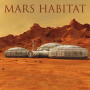 3D Mars-Umgebung 3d model