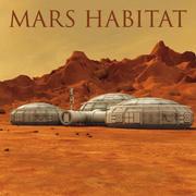 Environnement 3D Mars 3d model