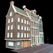 Europese gebouwen 3d model