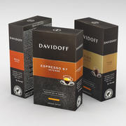 Coffee Box Davidoff Ground 250g 2018 Collection 3d model