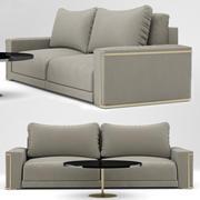 Sofa Montgomery Sofa, projekt Fendi Casa 3d model