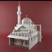 Sera Mosque 3d model