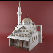 Mezquita Sera modelo 3d