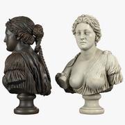Aphrodite Bust 3d model