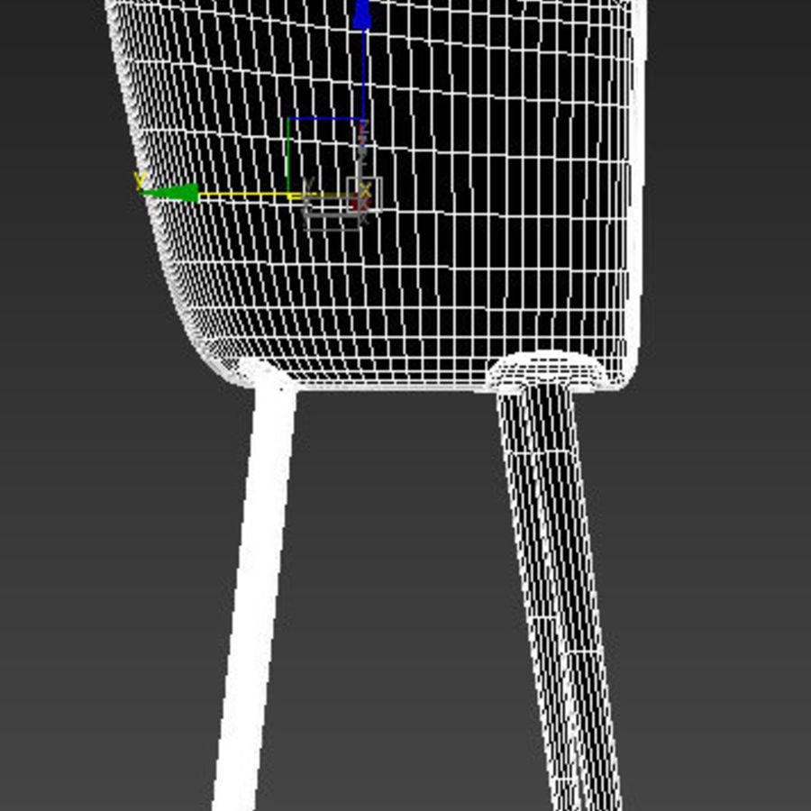 肘掛け椅子 royalty-free 3d model - Preview no. 9