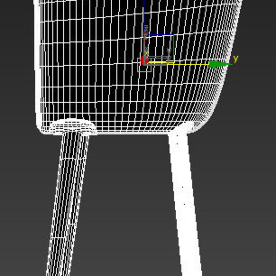 肘掛け椅子 royalty-free 3d model - Preview no. 10