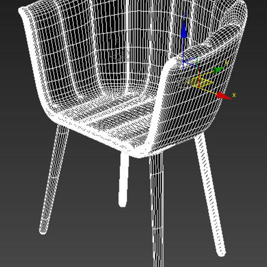 肘掛け椅子 royalty-free 3d model - Preview no. 11