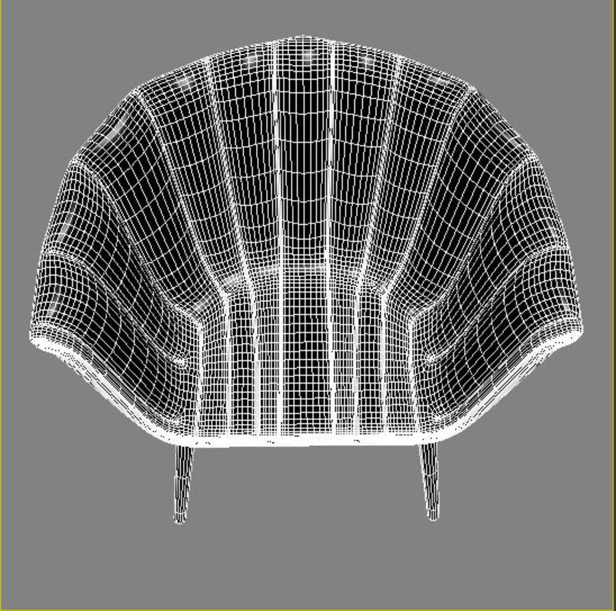 肘掛け椅子 royalty-free 3d model - Preview no. 8