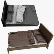 Ikea Bed Collection 3d model