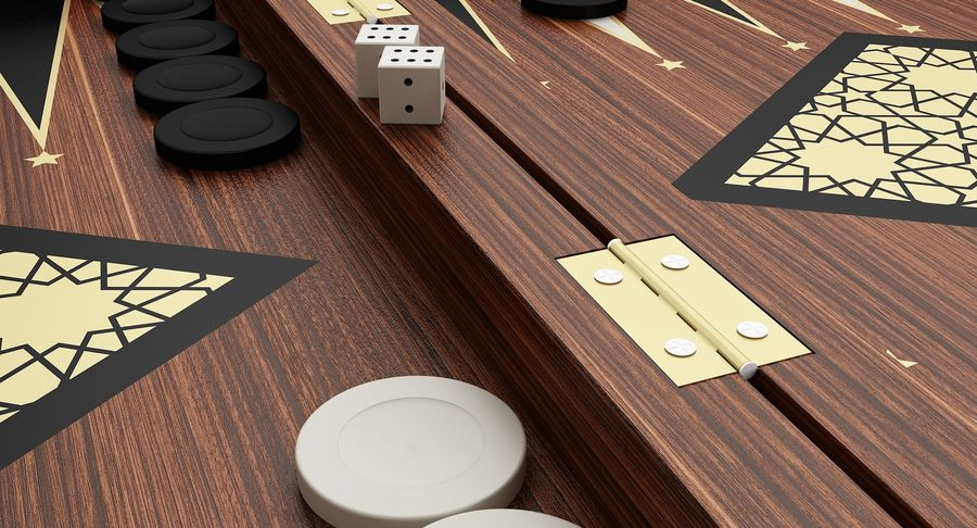 Board Games Collection 3in1 royalty-free 3d model - Preview no. 13