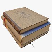 Böcker 04 3d model