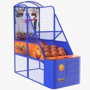 Arcade Basketball Machine 3d model