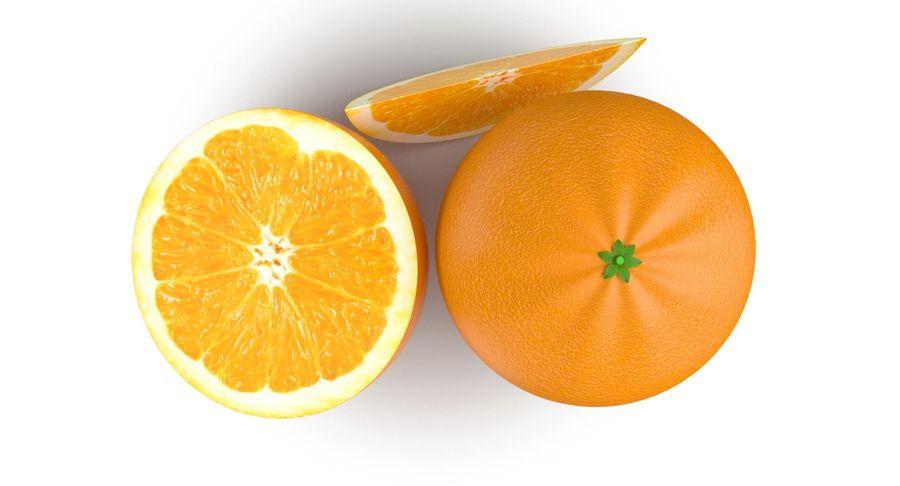 Laranjas Frutas royalty-free 3d model - Preview no. 7