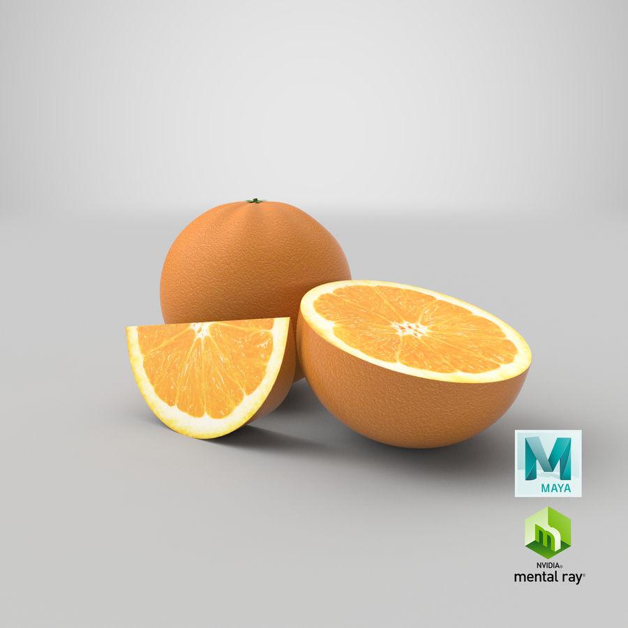 Laranjas Frutas royalty-free 3d model - Preview no. 15