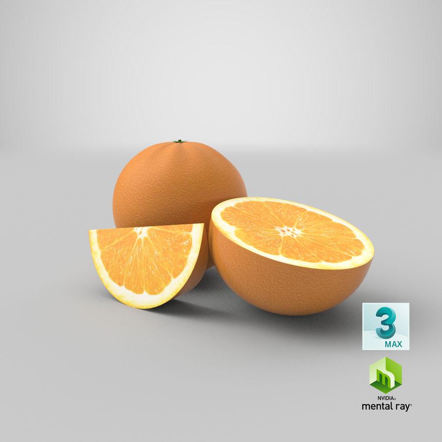 Laranjas Frutas royalty-free 3d model - Preview no. 17