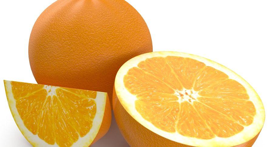 Laranjas Frutas royalty-free 3d model - Preview no. 4